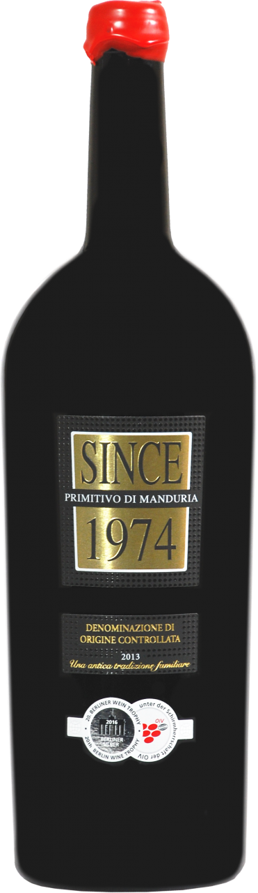 Since 1974 Primitivo di Manduria DOP - 1.5 L Magnum in 1er Karton