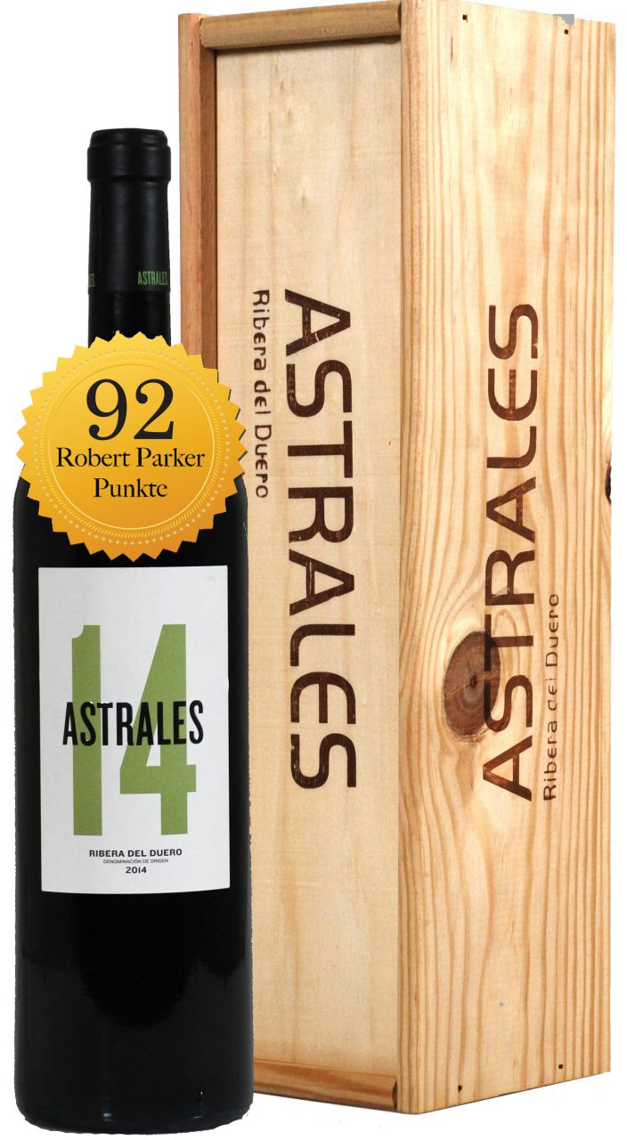 Astrales D.O. Ribera del Duero - 1.5 L Magnum in Holzkiste