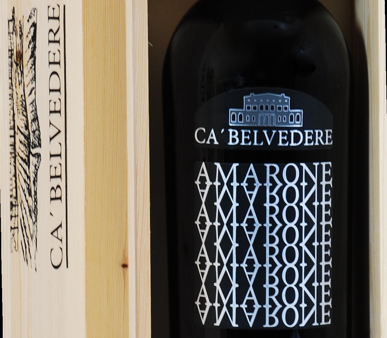 Ca'Belvedere DOCG Amarone della Valpolicella Classico - 3.0 L Doppelmagnum in Holzkiste