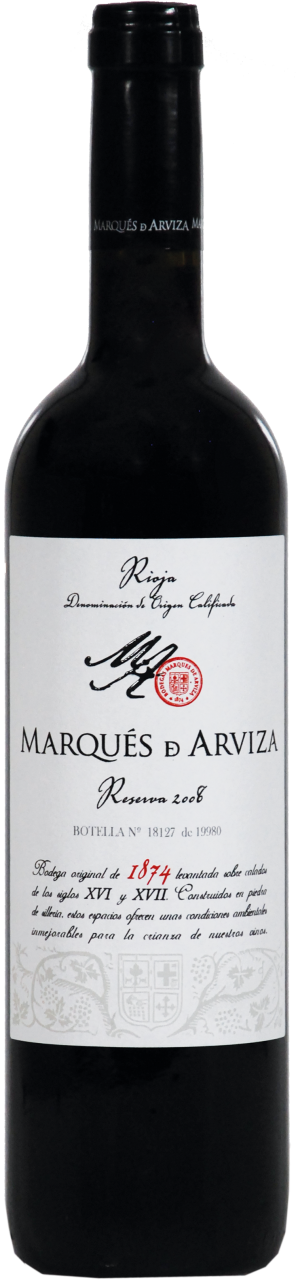 Marques de Arviza D.O.CA Reserva - in 6er Holzkiste