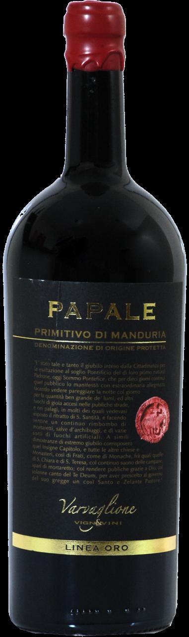 Papale Primitivo di Manduria DOP Linea Oro - 1.5 L Magnum