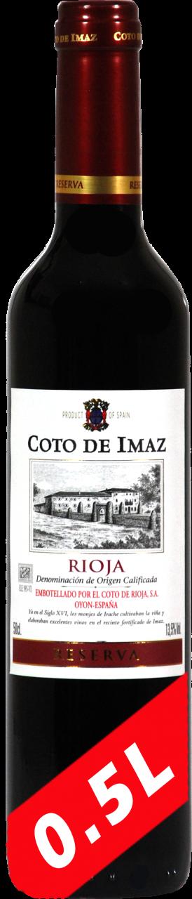 Coto de Imaz D.O.CA Reserva - 0.5 Liter