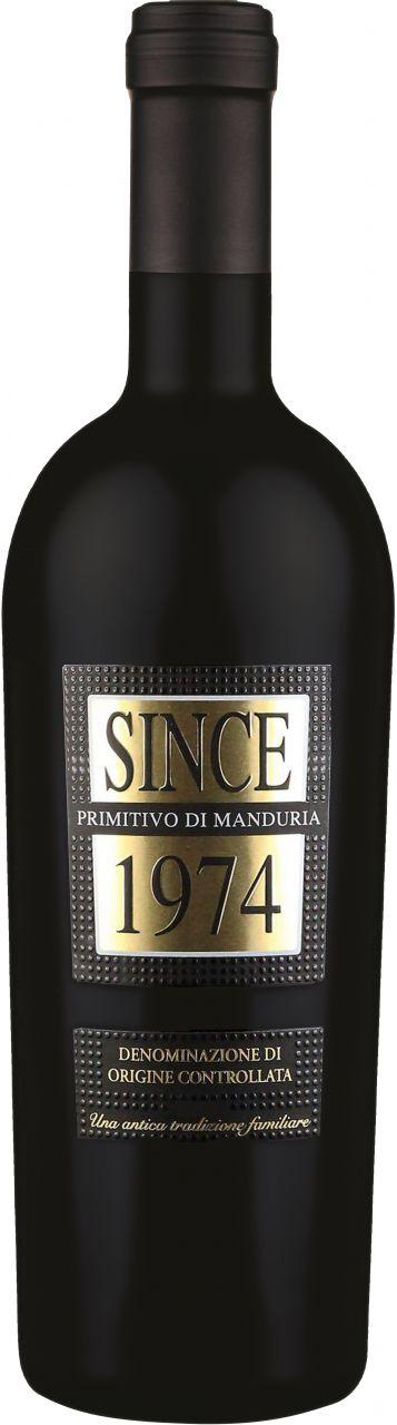 Since 1974 Primitivo di Manduria DOC