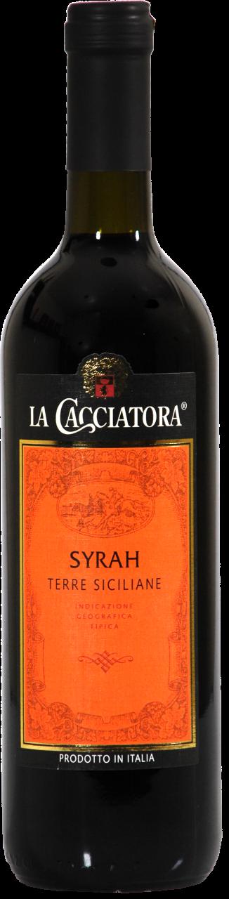 La Cacciatora IGT Syrah Terre Siciliane